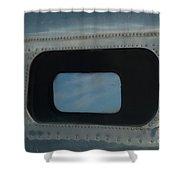 Side Window Beechcraft Model 18-signed-#8604 Shower Curtain