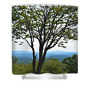 Sideling Hill Lookout  Shower Curtain