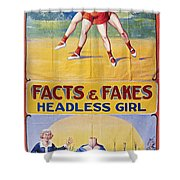 Sideshow Poster, C1975 Shower Curtain