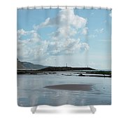 Sidmouth Beach Shower Curtain