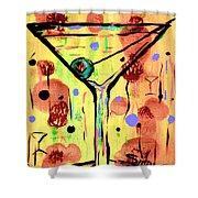 Sidzart Pop Art Martini This Is Sooo Mine Shower Curtain