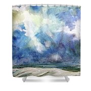 Siege Of November Shower Curtain