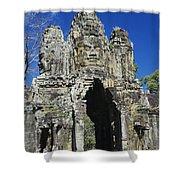Siem Reap, Angkor Thom Shower Curtain