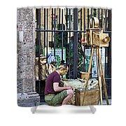 Siena-29 Shower Curtain