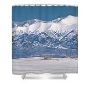 Sierra Blanca Shower Curtain