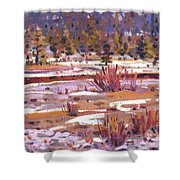 Sierra Creek Shower Curtain