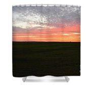 Sierra Foothills Sunset Shower Curtain