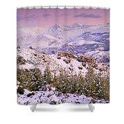 Sierra Nevada At Sunset Shower Curtain