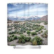 Sierra Nevada Front Shower Curtain