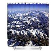 Sierra Nevada Range Shower Curtain
