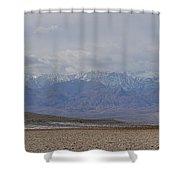 Sierra Nevada View Shower Curtain