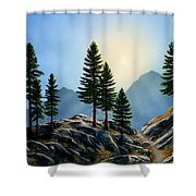 Sierra Sentinals Shower Curtain