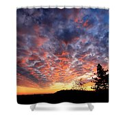 Sierra Skygasm Wide Angle Shower Curtain