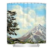 Sierra Warriors Shower Curtain