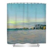 Siesta Key Beach At Dusk Shower Curtain