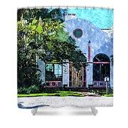 Siesta Key Beach Cottage Shower Curtain