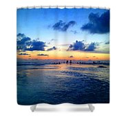 Siesta Key Sunset 1 Shower Curtain