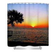 Siesta Key Sunset 2 Shower Curtain