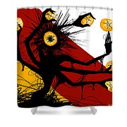 Siete De Oros Shower Curtain