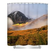 Siever's Mountain Shower Curtain