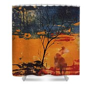 Sight Hound Shower Curtain