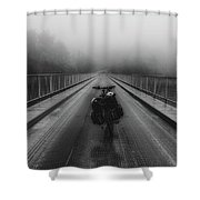 Sights Along The Way Shower Curtain