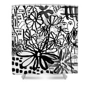Sightseeing 2- Art By Linda Woods Shower Curtain