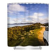 Sightseeing Southern Tasmania Shower Curtain