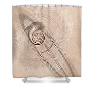 Sigil Shower Curtain