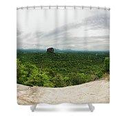 Sigiriya Panorama Shower Curtain