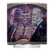 Sigmund Freud 2 Shower Curtain