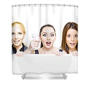 Sign Of Business Innovation And Business Success Shower Curtain