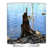 Sign Of Life Shower Curtain