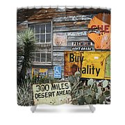 Sign Sign, Everywhere A Sign Shower Curtain