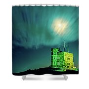 Signal Hill Moonshine Shower Curtain