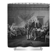 Signing The Declaration Of Independence Shower Curtain