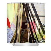 Signs And Shadows Shower Curtain