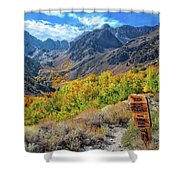 Signs Of Grandeur  Shower Curtain