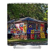 Signs Of Past Times Shower Curtain