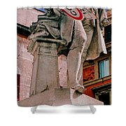 Signs Of Rome Shower Curtain