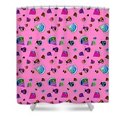 Signs Of Summer Shower Curtain