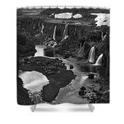 Sigoldufoss Waterfalls Iceland 1294 Shower Curtain