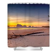 Sikao Sunset Shower Curtain