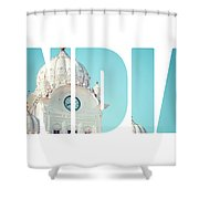 Sikh Gurdwara Golden Temple Shower Curtain