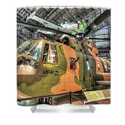 Sikorsky Hh-3 Jolly Green Giant Shower Curtain