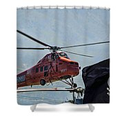 Sikorsky S-58t Shower Curtain