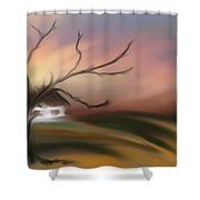 Silece Shower Curtain