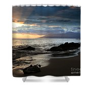 Silence Of Devotion Shower Curtain