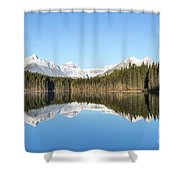 Silence Of North Shower Curtain