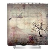 Silence To Chaos - 5502c2v Shower Curtain